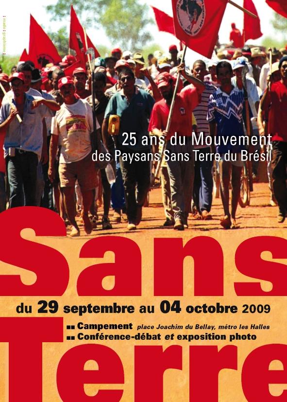 Mouvement des travailleurs ruraux sans terre du Br�sil (MST ...
